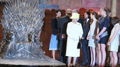 PHOTOS La reine Elizabeth sur le plateau de tournage de Game of Thrones