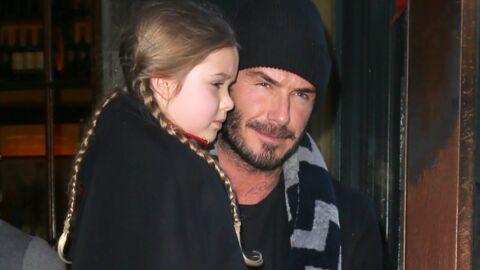 David Beckham: sa fille Harper heureuse de la rencontre entre son père et la Reine d'Angleterre