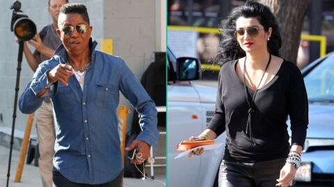 jermaine jackson apr s l avoir mordu la jambe sa femme demande le divorce voici. Black Bedroom Furniture Sets. Home Design Ideas
