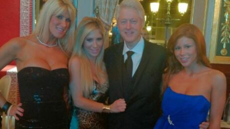 PHOTO Bill Clinton avec des stars du porno à Monaco