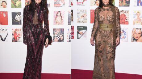PHOTOS Demi Moore et Kim Kardashian osent des tenues très transparentes au gala de Vogue