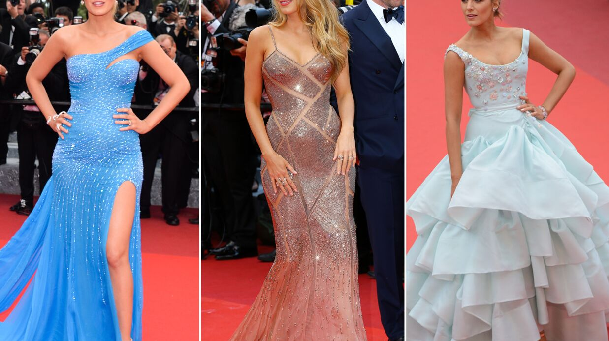 PHOTOS Blake Lively : déjeu­ners, photo­calls, tapis rouges… Ses sublimes tenues à Cannes