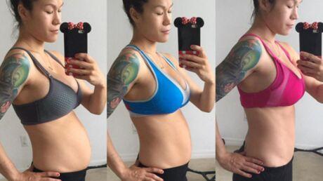 PHOTOS Juste après avoir accouché, une blogueuse fitness affiche un ventre surréaliste
