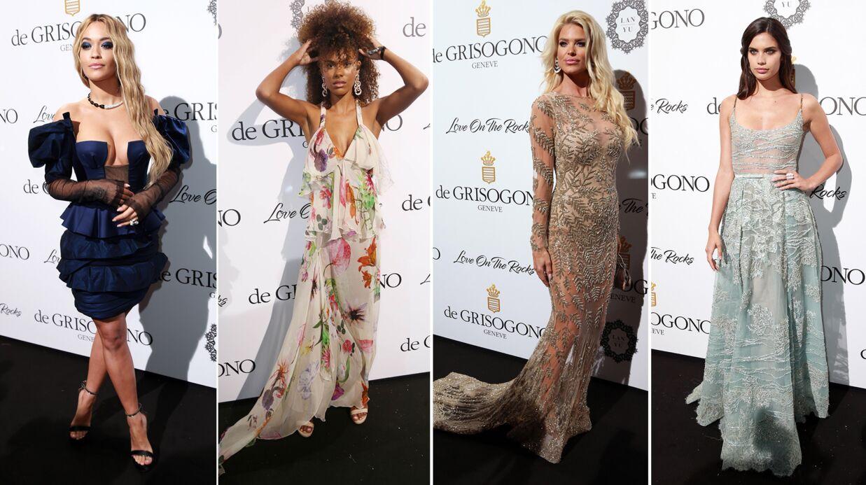 PHOTOS Cannes 2017: Victoria Silvstedt sculpturale, Rita Ora TRÈS décolletée à la soirée De Grisogono