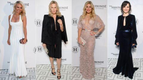 PHOTOS Cannes 2017: Pamela Anderson et Hofit Golan très décolletées, Estelle Lefébure chic pour The Harmonist