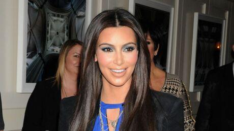 Kim Kardashian: sa réaction après son enfarinage
