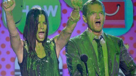 DIAPO Kids' Choice Awards 2013: qui a été recouvert de slime?