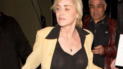 PHOTOS Sharon Stone seins nus dans un restaurant de Los Angeles