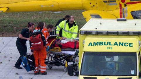 PHOTOS Le prince William en pleine mission de secours avec son hélicoptère