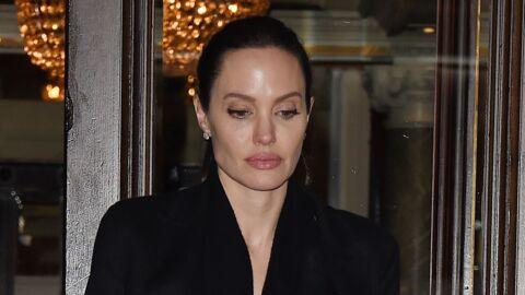 VIDEO Angelina Jolie rencontre un archevêque: sa poitrine apparente choque les internautes