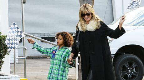 DIAPO Heidi Klum et Seal, réunis pour l'anniversaire de leur fils
