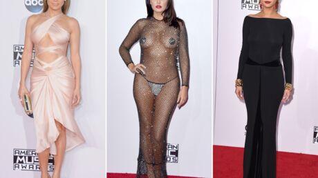 PHOTOS AMA 2014: Jennifer Lopez et Fergie sexy, une chanteuse vient presque nue