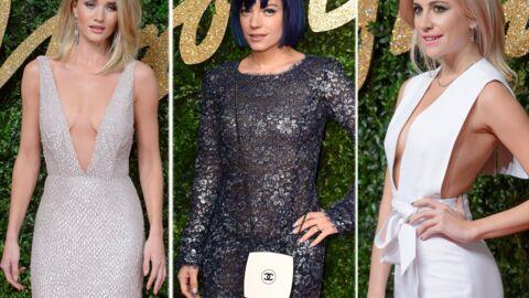 PHOTOS Lily Allen, Rosie Huntington-Whiteley, Pixie Lott… Les plus beaux looks des British Fashion Awards