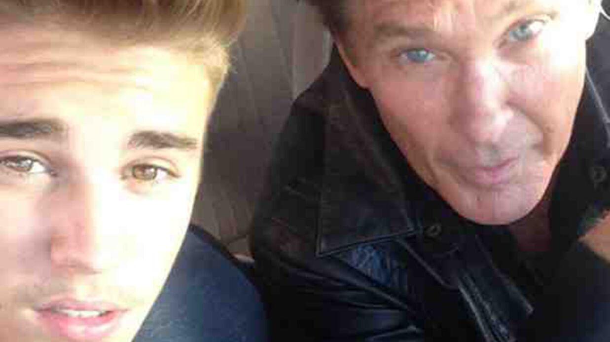 David Hasselhoff: pour l'acteur, Justin Bieber a eu raison de frapper un fan