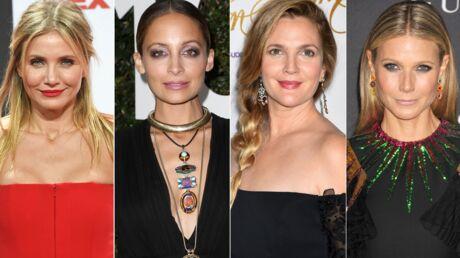 PHOTO Drew Barrymore, Cameron Diaz, Nicole Richie, Gwyneth Paltrow posent ensemble sans maquillage