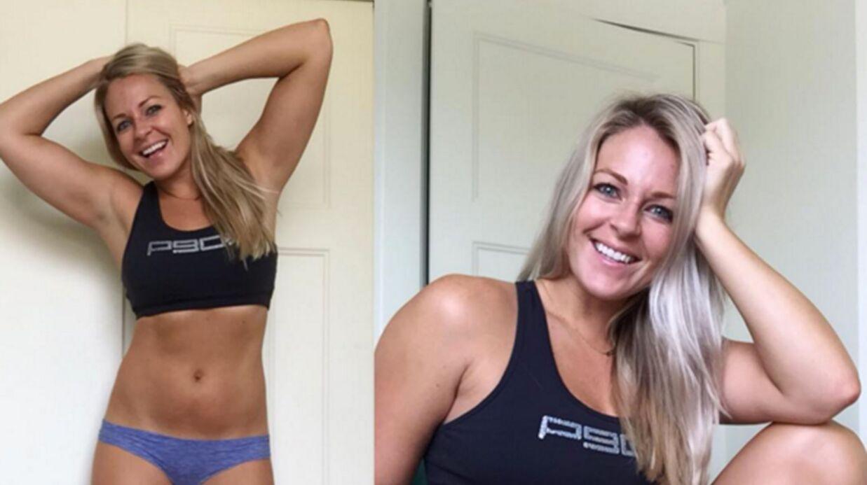 Une blogueuse fitness dénonce la pression du corps parfait avec deux clichés incroyables