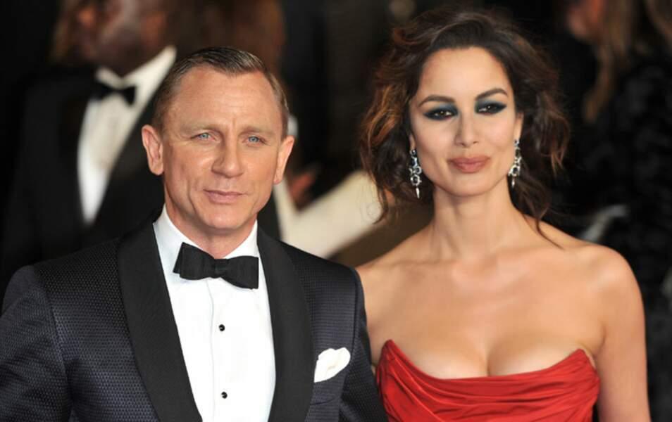 Daniel Craig et Bérénice Marlohe