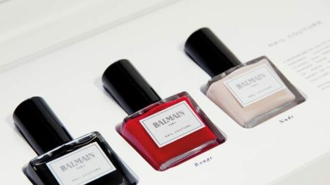 Balmain lance une collection de vernis