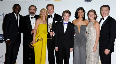 Emmy Awards 2012 : Homeland et Modern Family grands gagnants