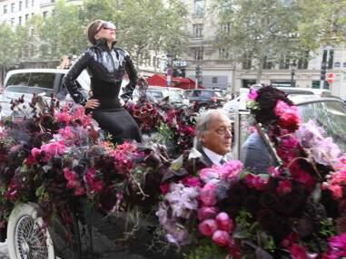 Le lancement parisien du parfum de Lady Gaga