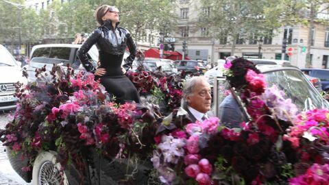 DIAPO Lady Gaga: un passage triomphal sur les Champs-Elysées