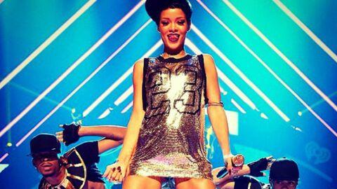 Rihanna s'offre une stripteaseuse à Las Vegas