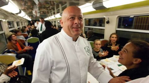 VIDEO Thierry Marx (Top chef) transforme un RER en resto 3 étoiles