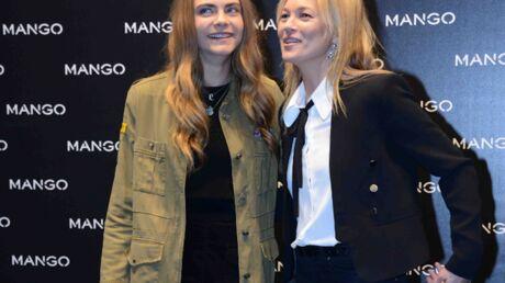 PHOTOS Cara Delevingne et Kate Moss: duel de selfies sexy sur Instagram