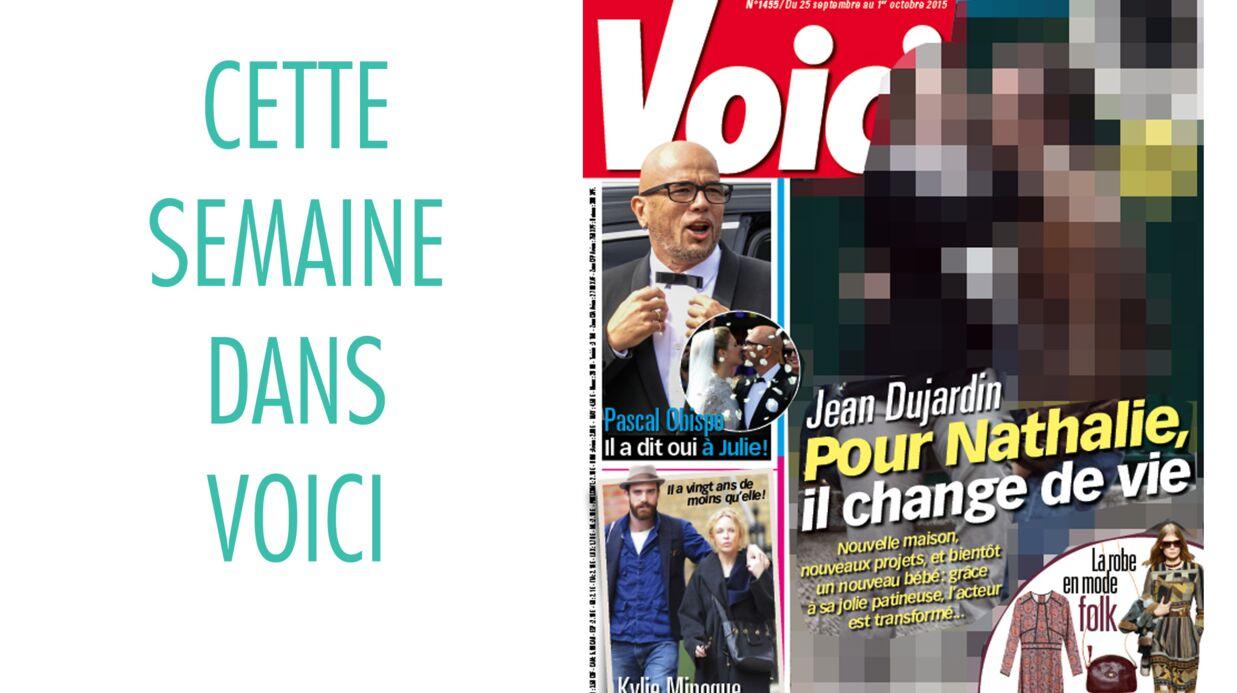 Cette semaine dans Voici: Jean Dujardin change de vie pour Nathalie Péchalat