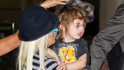 DIAPO Christina Aguilera: son fils a un sacré cocard