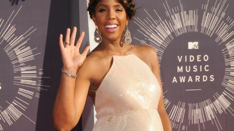 PHOTOS Kelly Rowland affiche son ventre de future maman aux MTV Video Music Awards
