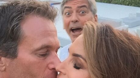 George Clooney s'incruste sur une photo de vacances de Cindy Crawford et son mari