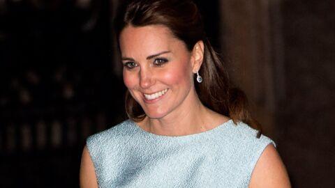 DIAPO Kate Middleton porte sa première robe de grossesse