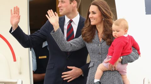 PHOTOS Kate, William et George referment leur tournée australe avec élégance