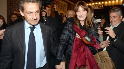 PHOTOS Nicolas Sarkozy et Carla Bruni reçus comme des rockstars à New York