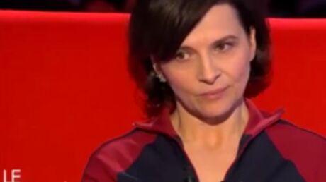VIDEO Juliette Binoche évoque le jour où elle a failli mourir avec son fils de 5 mois