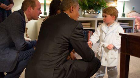 Prince George: sa robe de chambre pour rencontrer Barack Obama en rupture de stock
