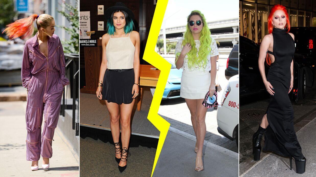 Les do & don'ts de la semaine: les cheveux multicolores