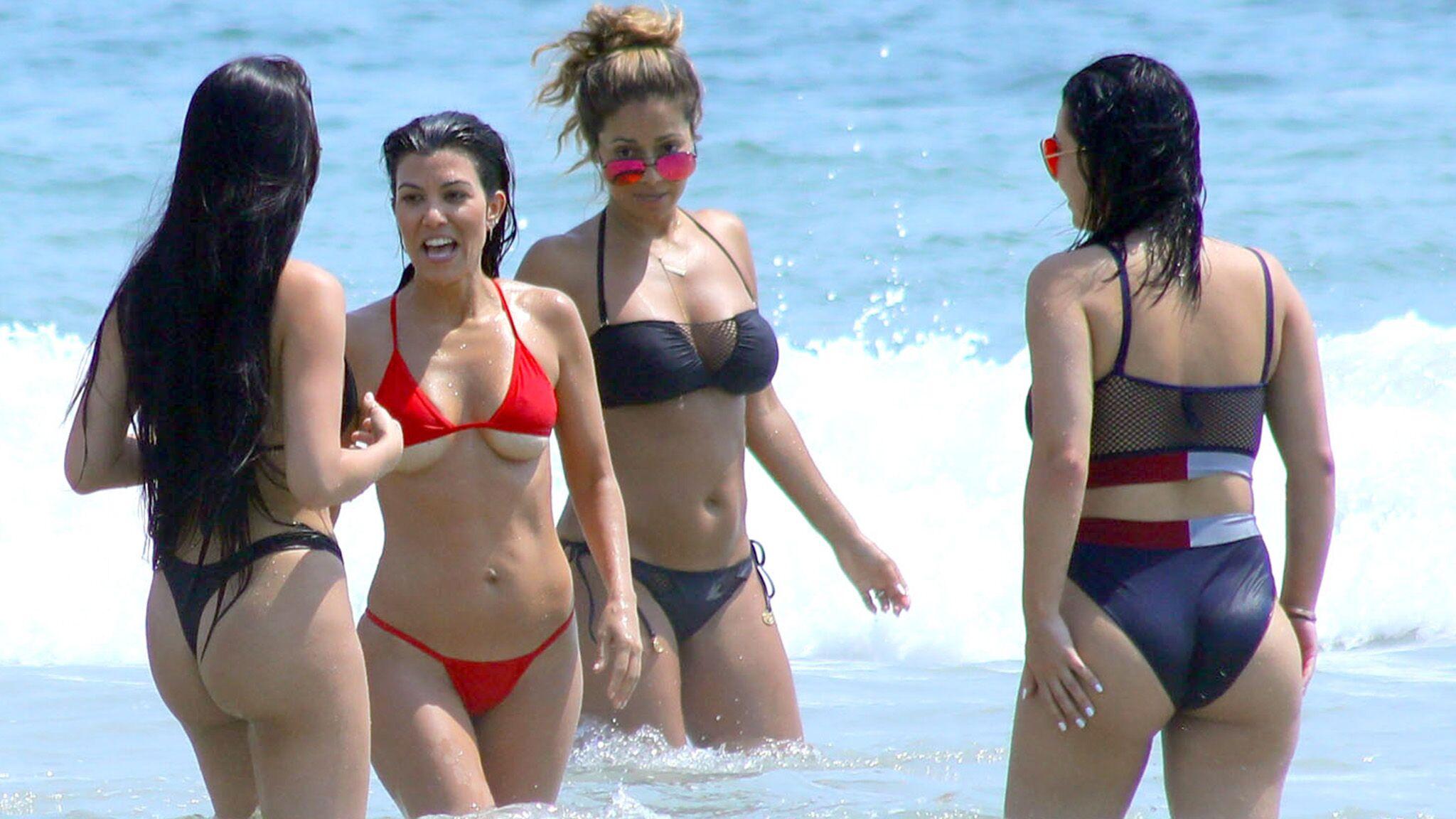 Opinion useful en bikini qui laisse voir le very