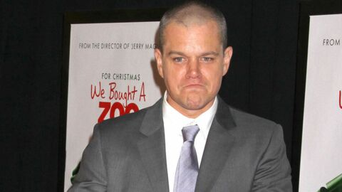 Matt Damon ne soutient plus Barack Obama