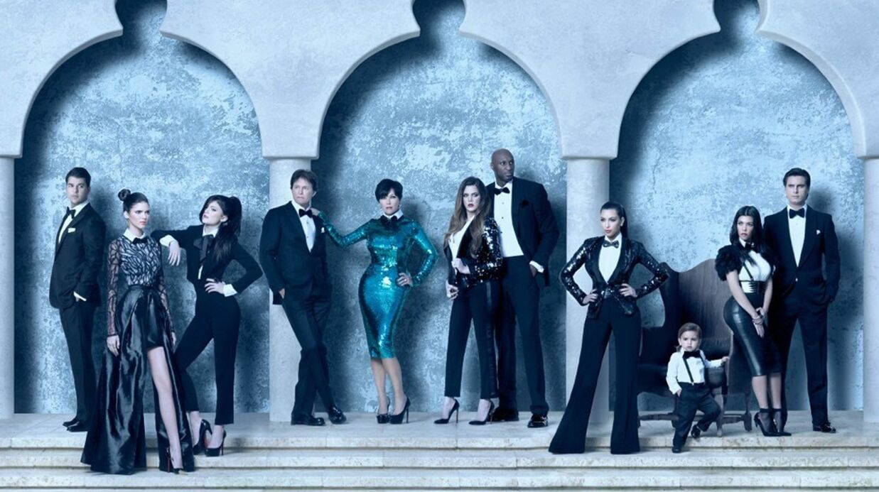 La famille Kardashian: cette année vous ne recevrez pas leur carte de Noël