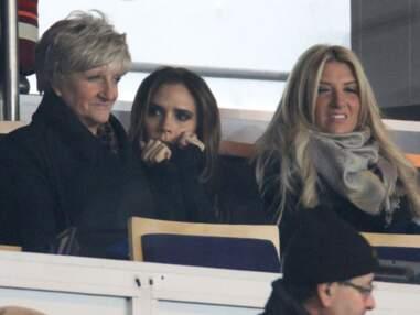 Victoria Beckham au Parc des princes pour les débuts de David Beckham avec le PSG