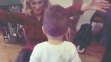 VIDEO Emilie Nef Naf dévoile les premiers pas de son fils