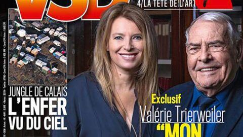 Valérie Trierweiler étonnamment changée en une de VSD: Photoshop n'est pas en cause