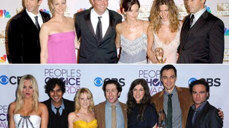 PHOTO Les acteurs de The Big Bang Theory et Friends réunis pour une photo historique!