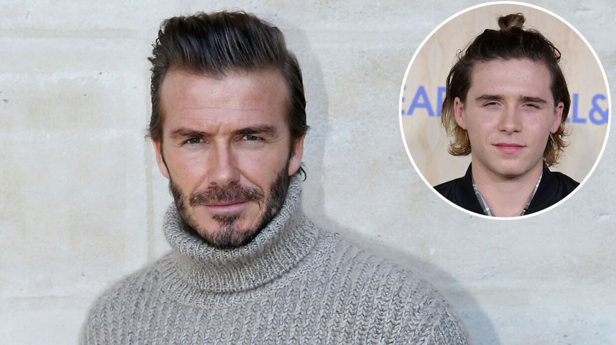 David Beckham colle la honte à son fils Brooklyn (et c'est drôle)