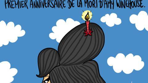 Louison a croqué… l'anniversaire de la mort d'Amy Winehouse