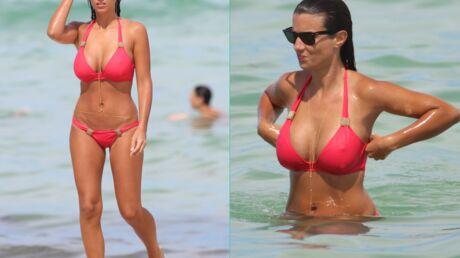 PHOTOS Ludivine Sagna toujours plus sexy en bikini à Miami