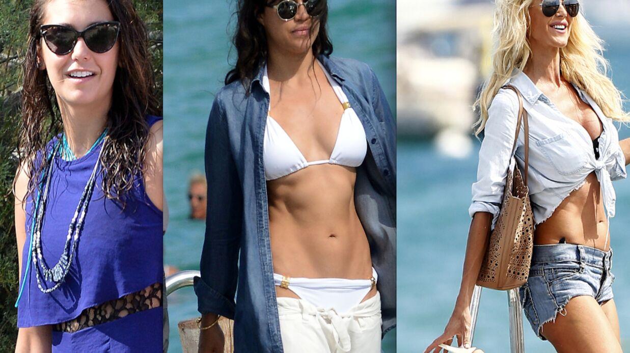 PHOTOS Nina Dobrev, Michelle Rodriguez et Victoria Silvstedt en vacances à Saint-Tropez