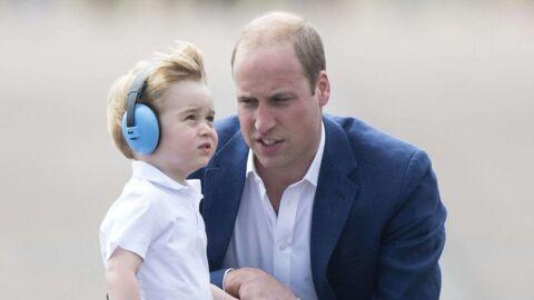 Le prince William trouve que son fils George a été «bien trop gâté» pour son anniversaire